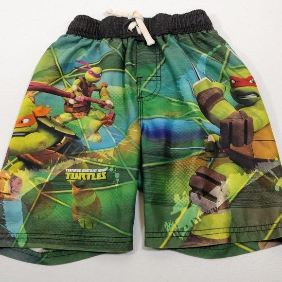 e59b69a7ed1af Nickelodeon Swim | Tmnt Trunks Boys Size 6 | Poshmark